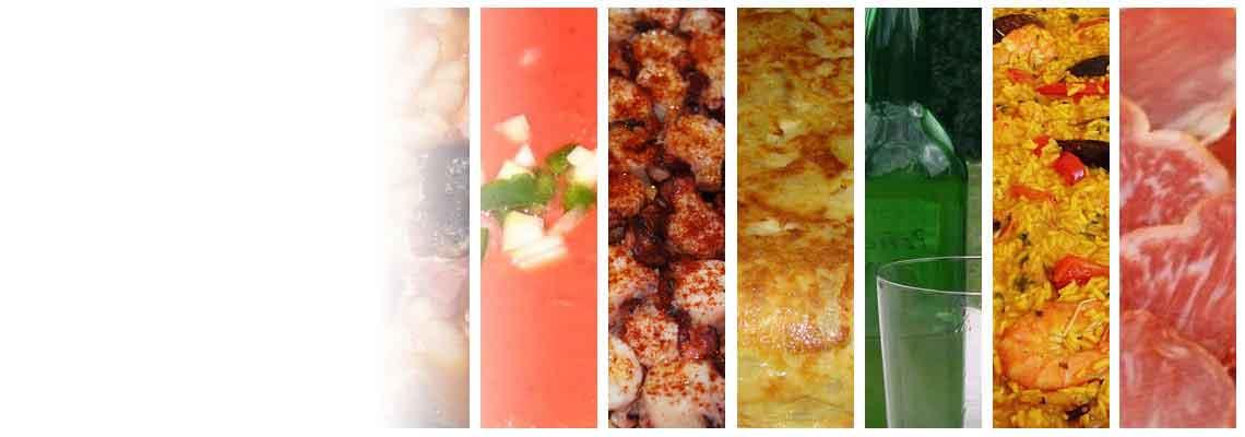 A další výrobky španělské gastronomie