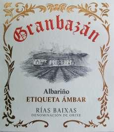 Bílé víno Granbazan Etiqueta Ambar