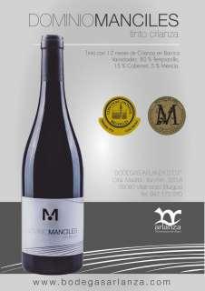 Červené víno Dominio de Manciles, Crianza