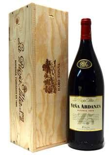 Červené víno Viña Ardanza  en caja de madera (Magnum)