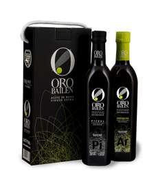 Extra panenský olivový olej Oro Bailen, reserva familiar, Estuche