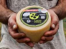 Idiazábal sýr Latxa Esnea
