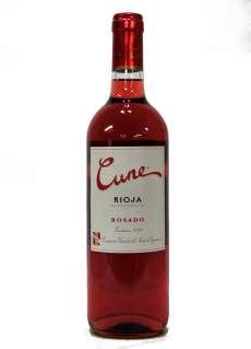 Růžové víno Cune Rosado