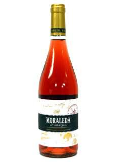 Růžové víno Moraleda Rosado