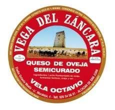 Semicured sýr Vega del Záncara