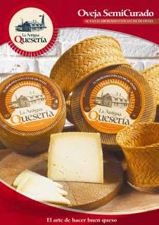 sýry La Antigua Queseria, Semicurado